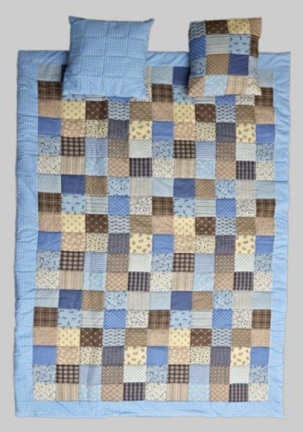 narzuta-patchwork-niebieski
