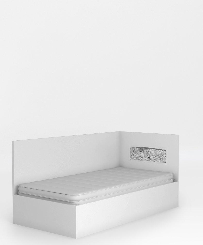 łóżko 95 Z Oparciem