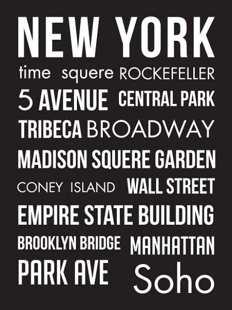 plakat-new-york-czarny