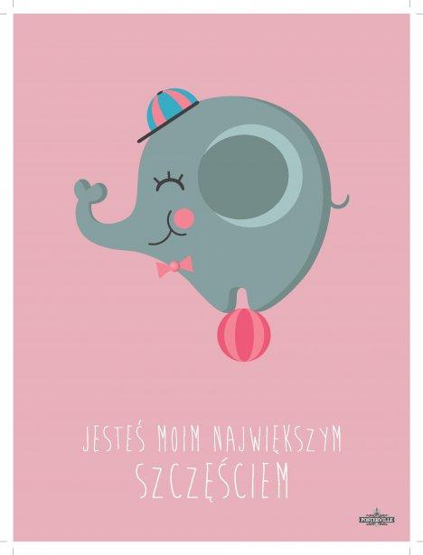 plakat-slonik-roz